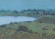 Lake Kamenetz. Pushkinskie Gory